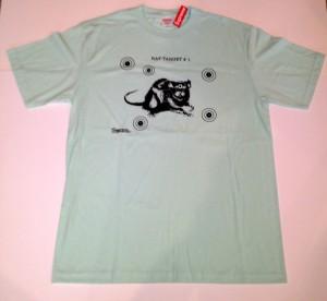 vintage supreme rat target t shirt deadstock