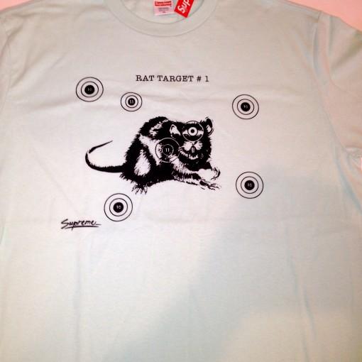 vintage supreme rat target t shirt size xl