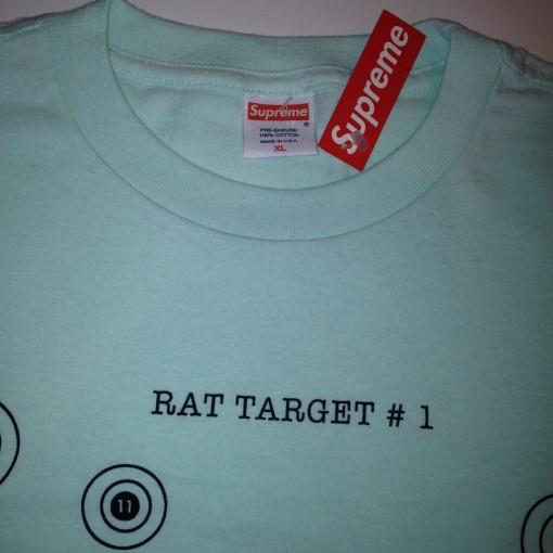 vintage supreme rat target t shirt brand new size xl