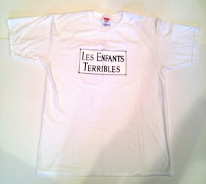 supreme les enfants terribles t shirt size large white