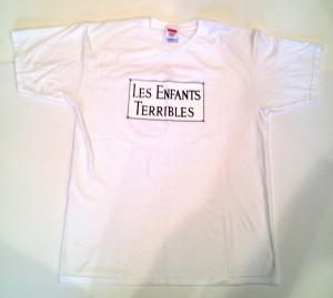 supreme les enfants terribles t shirt size large white