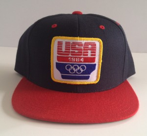 Rare vintage wear 1984 olympics starter snapback hat cap