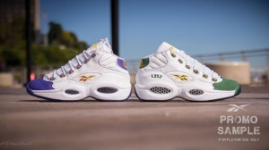 Lebron James & Kobe Bryant Reebok Question Sneakers