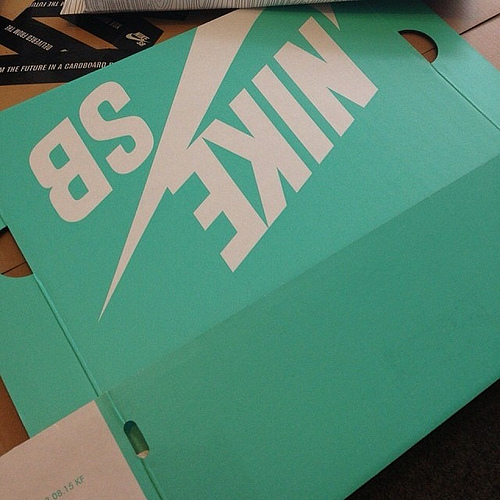 Nike SB Tiffany Blue Box era