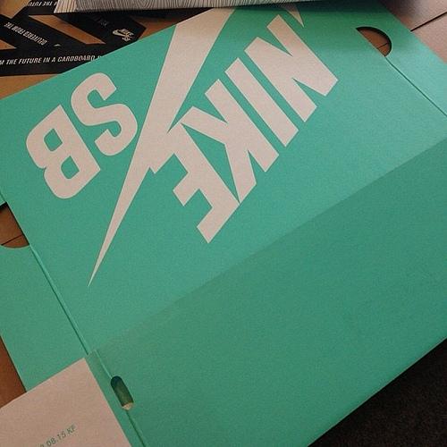 Nike SB Tiffany Blue Box era