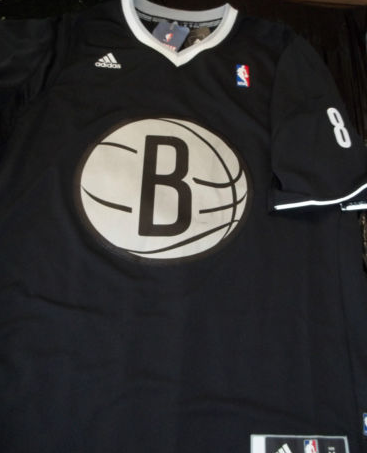 Brookyln Nets 2013 NBA big logo Christmas jersey