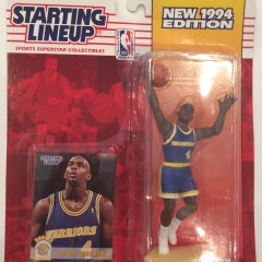 vintage chris webber golden state warriors 1994 nba starting lineup toy figure