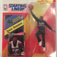 1992 david robinson san antonio spurs nba starting lineup toy figure