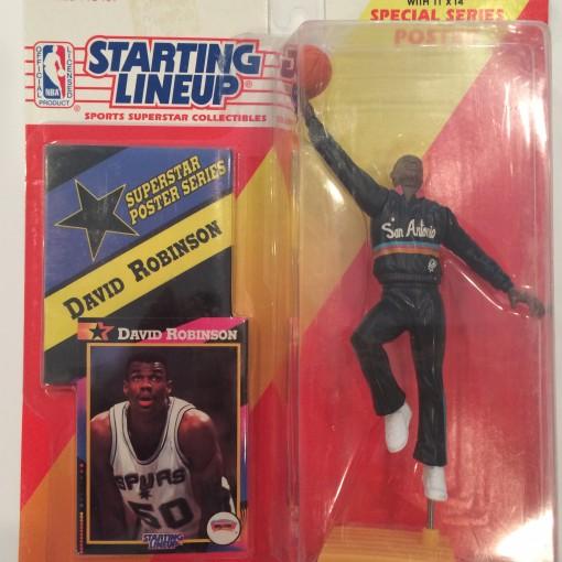 1992 david robinson san antonio spurs nba starting lineup toy figure