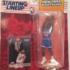 vintage 1994 kenner hasbro patrick ewing new york knicks starting lineup toy figure