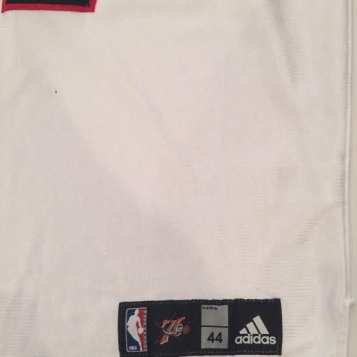 vintage size 44 authentic philadelphia 76ers elton brand adidas jersey