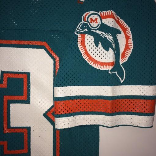 miami dolphins dan marino sandknit nfl football jersey