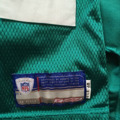 authentic game worn miami dolphins nfl jersey