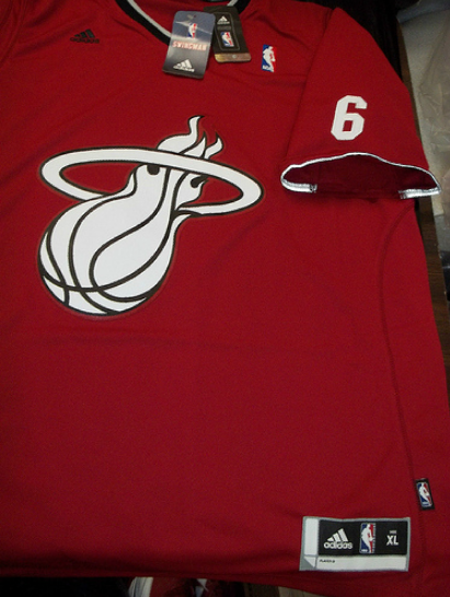 Miami Heat 2013 NBA Big Logo christmas jersey