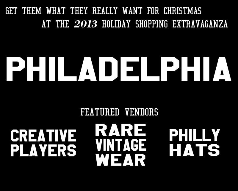 2013 holiday shopping extravaganza philadelphia