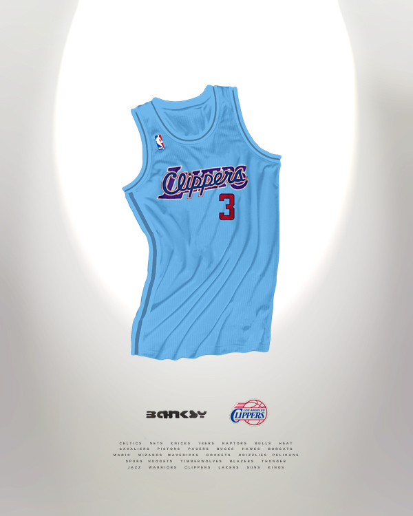los angeles clippers jersey reimagined