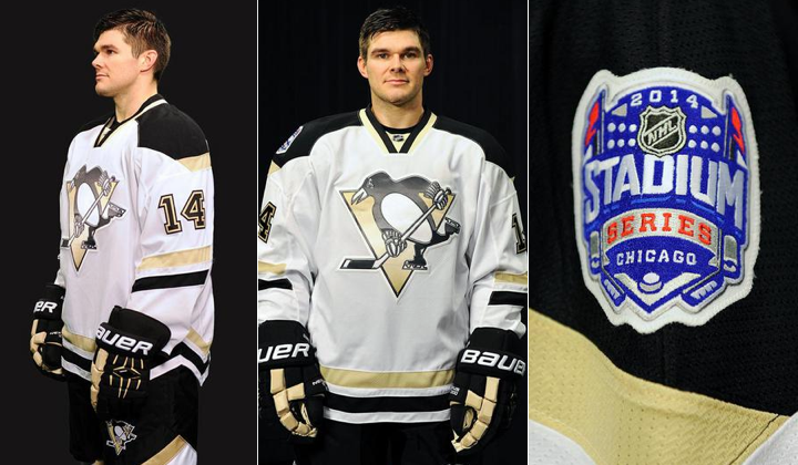 2014 Pittsburgh penguins stadium series outdoor jerseys