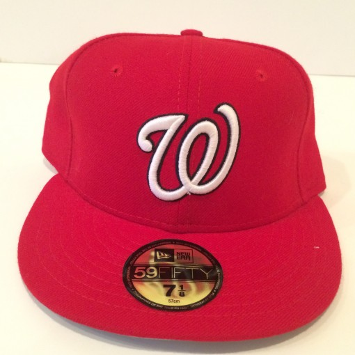 washington nationals new era fitted hat