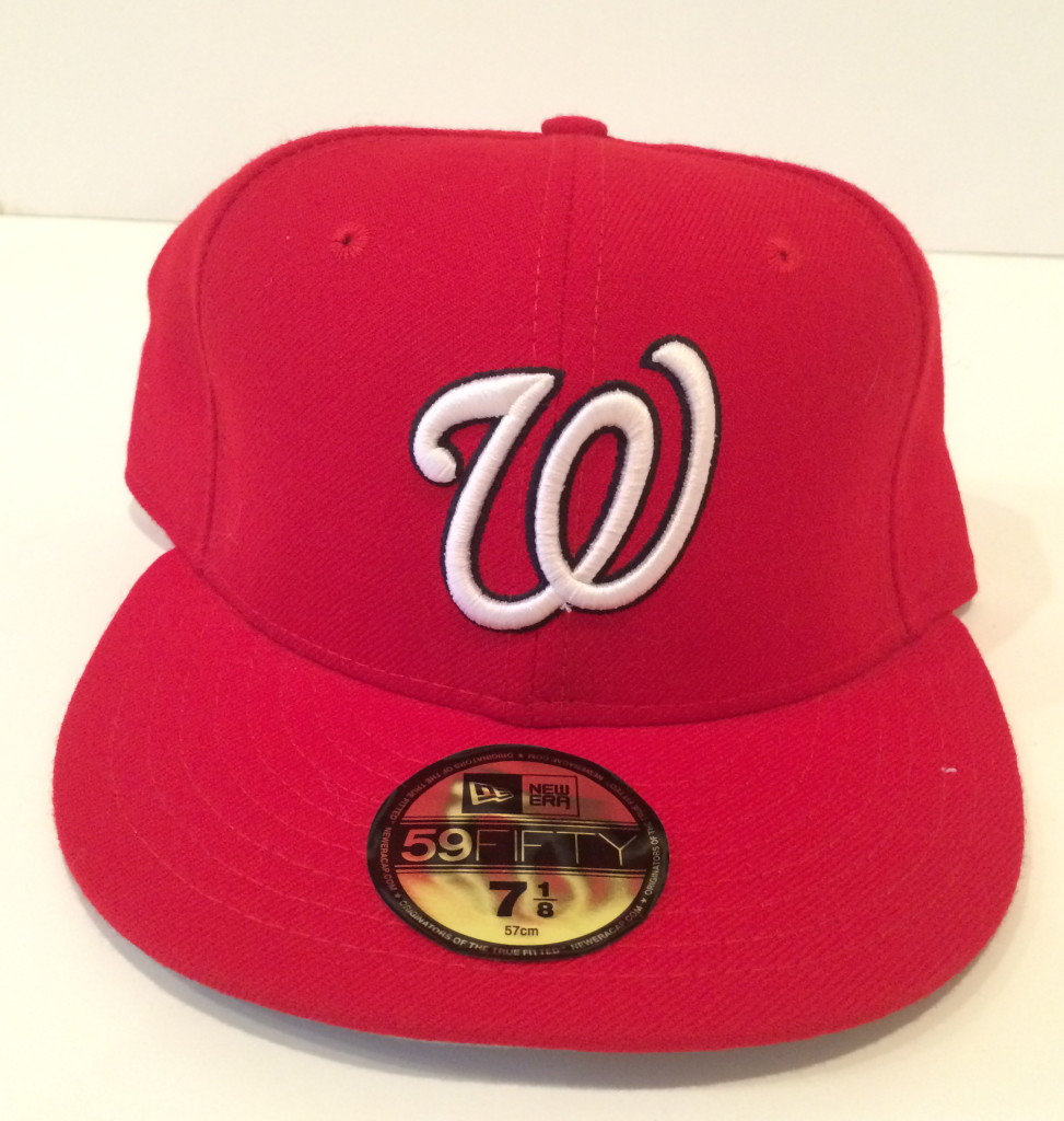 Washington Nationals New Era Fitted MLB Hat 7 1 8  b3a0c0adc87