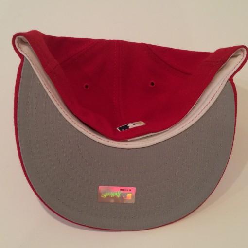 washington nationals new era fitted hat size 7 1/8
