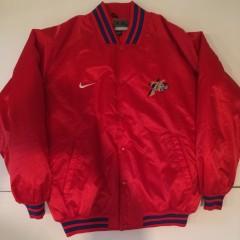 Vintage philadelphia sixers Nike satin jacket iverson era