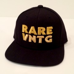 Rare Vintage Wear Rare VNTG starter snapback hat metallic gold