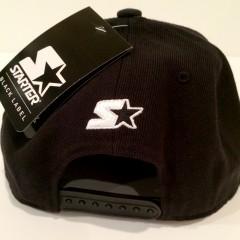 back of rare vintage wear Rare VNTG starter snapback hat cap