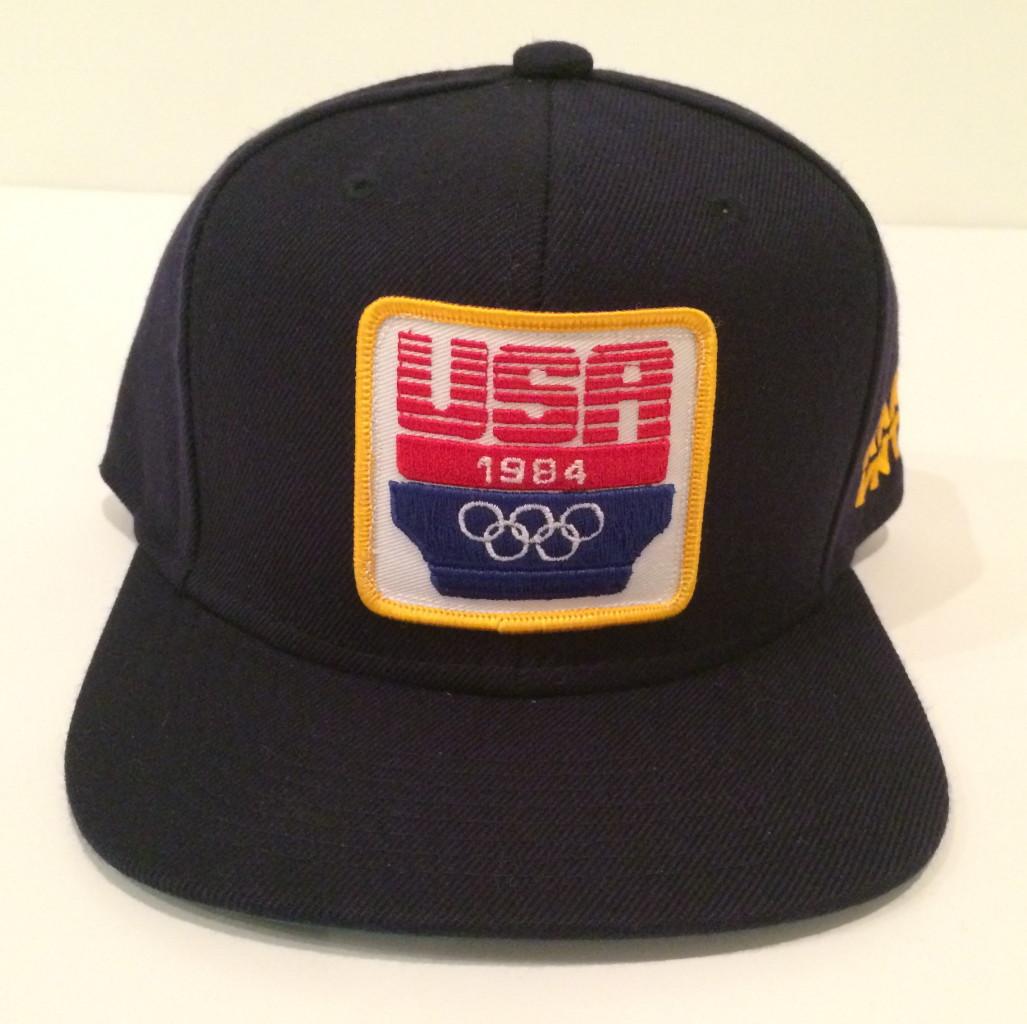 0493026be6e ... rare vintage wear x starter 1984 olympics snapback hat ...