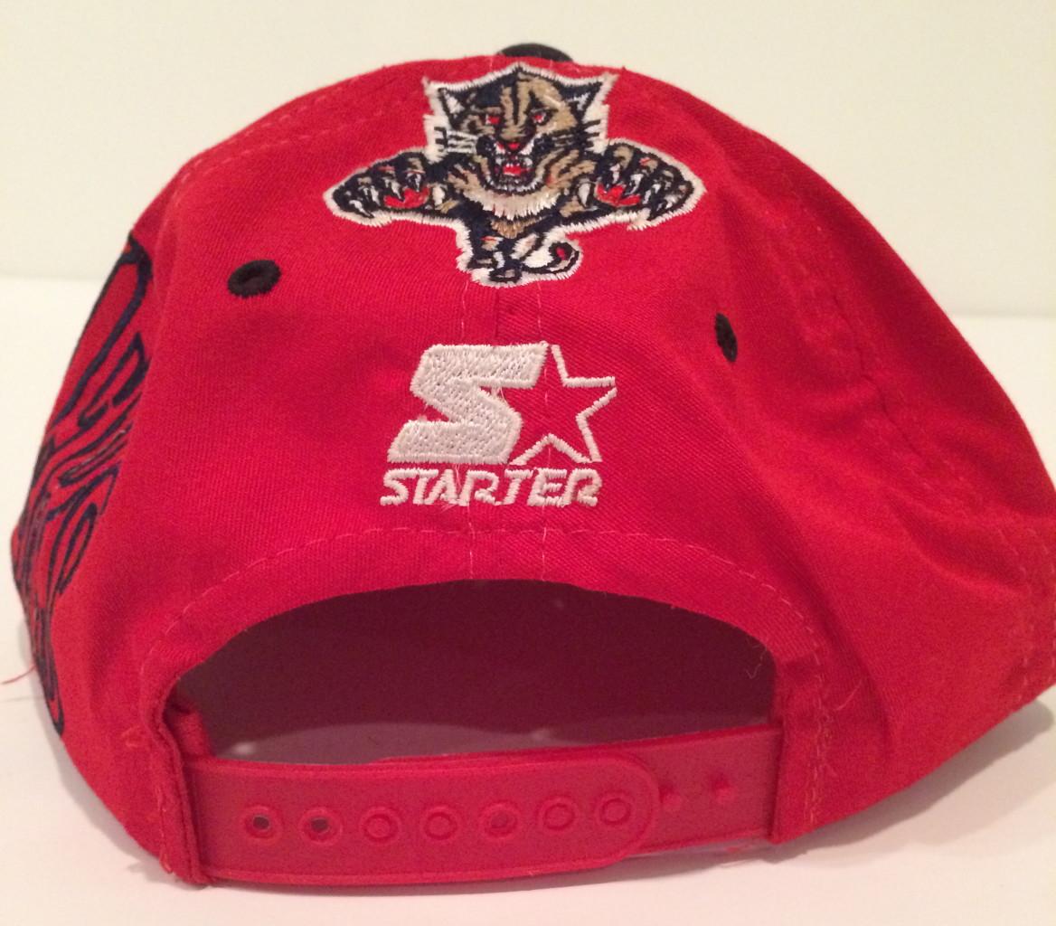 55d26b23245727 Vintage Florida Panthers Starter Big Logo NHL Snapback Hat | Rare Vntg