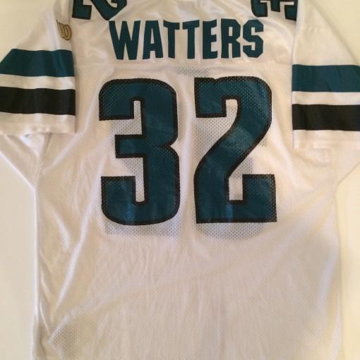 vintage ricky watters philadelphia eagles wilson nfl football jersey