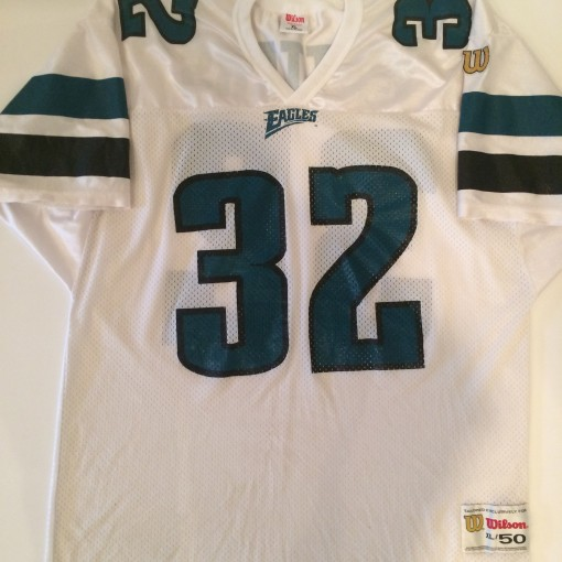 1996-1997 philadelphia eagles ricky watters nfl football jersey