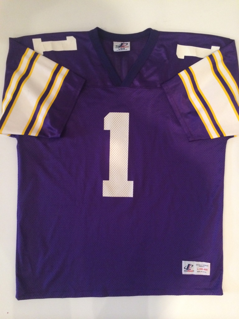 f1efa00c 1994 Warren Moon Minnesota Vikings Logo Athletic NFL Football Jersey ...