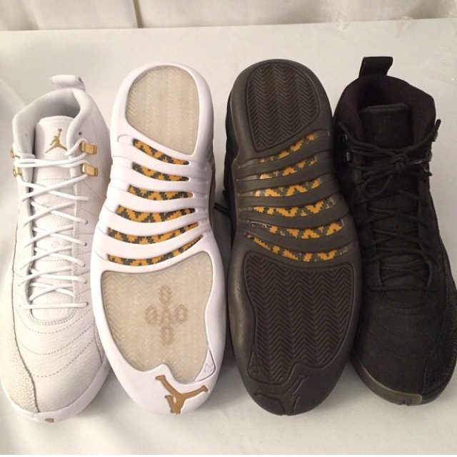 Drake's Air Jordan 12 Retro OVO Stingray edition