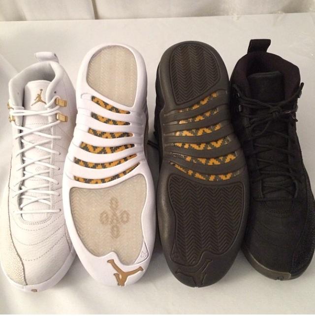 Drake's Air Jordan 12 Retro OVO Stingray edition