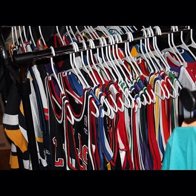 Rare Vintage Wear jersey rack refresh PGH winter shoe expo