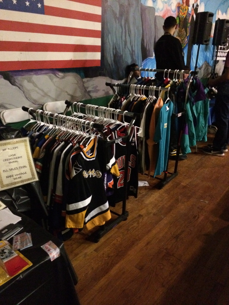 rare vintage wear set up at refresh pgh winter shoe expo 2014