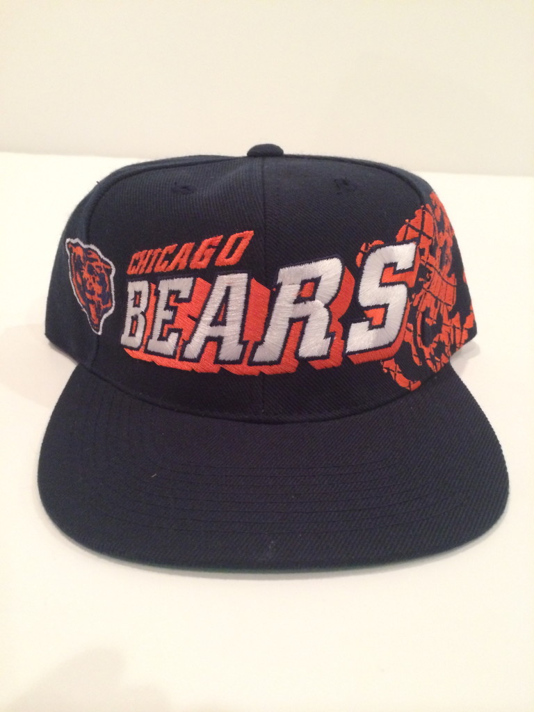 Vintage Chicago Bears Sports Specialties NFL Snapback Hat  6590734b7745