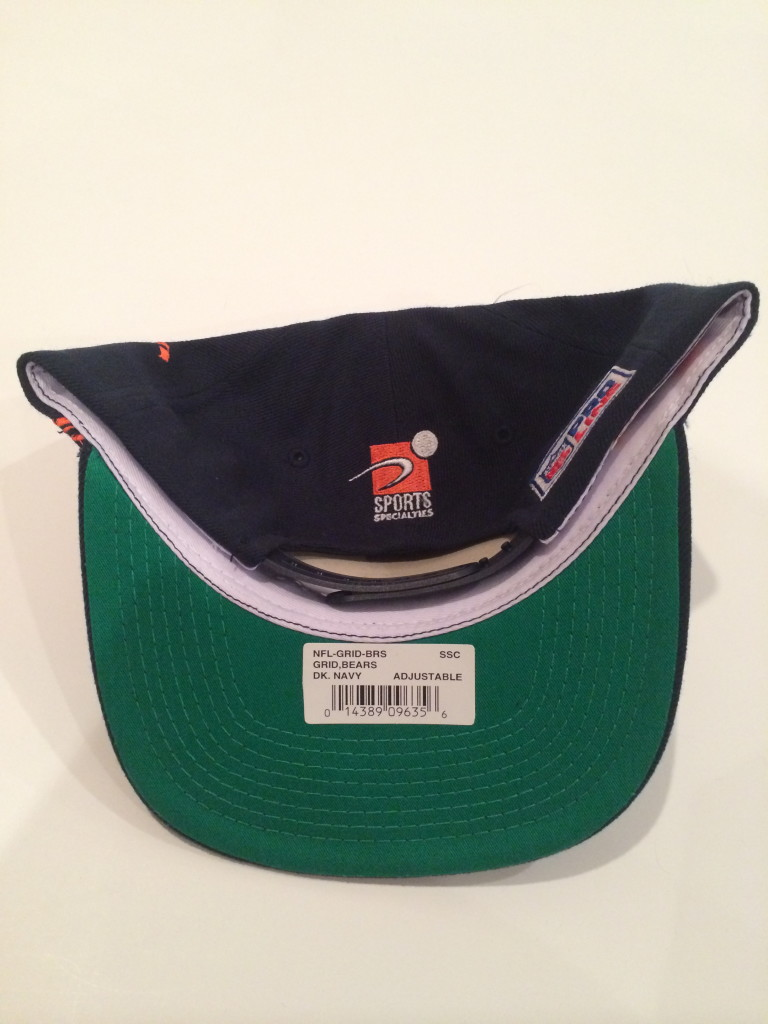 1894a370 Vintage Chicago Bears Sports Specialties NFL Snapback Hat | Rare Vntg