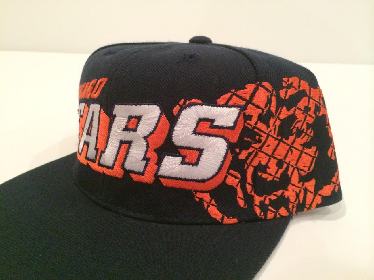 Vintage Chicago Bears Sports Specialties NFL Snapback Hat  9cc8b3ab6