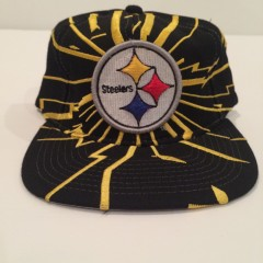 vintage pittsburgh steelers starter collision snapback hat