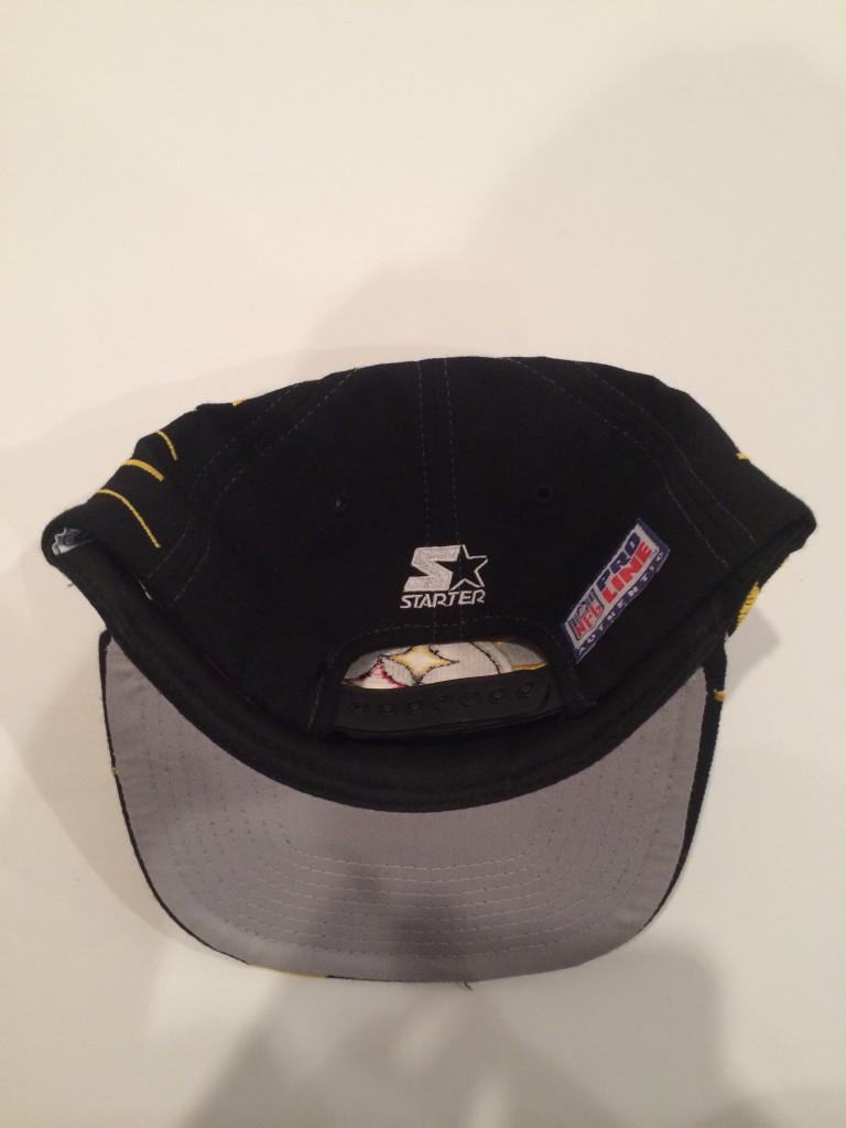 Vintage Pittsburgh Steelers Starter Collision Shatter NFL Snapback ... d007ccf8b