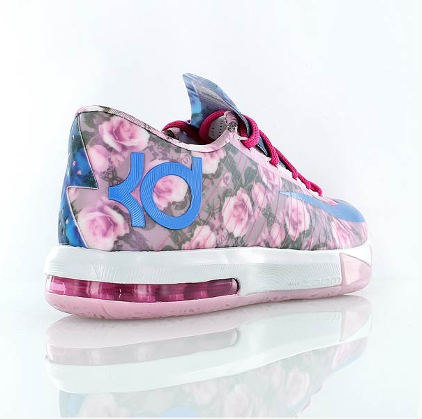 kevin durant floral sneakers