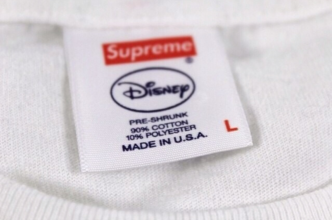 Supreme x Disney 2014