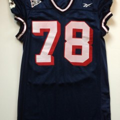 game worn reebok uconn huskies ncaa football jersey
