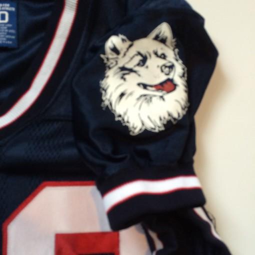 authentic uconn huskies game worn ncaa football jersey