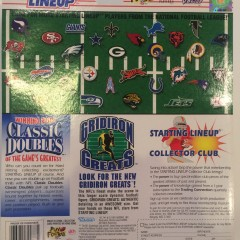 kenner hasbro starting lineup classic doubles toy set back package