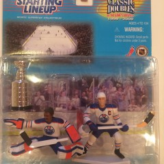 wayne gretzky grant fuhr edmonton oilers stanley cup starting lineup toy set