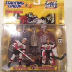 scott stevens martin brodeur new jersey devils starting lineup classic doubles stanley cup toy set