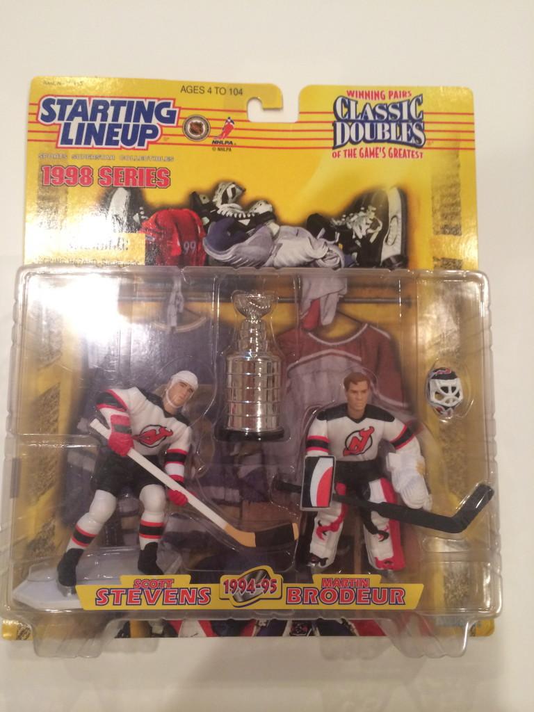 Open 1998 Starting Lineup Classic Doubles New Jersey Devils Scott Stevens