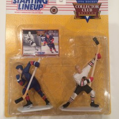 brett hull bobby hull starting linuep classic dobules colletors club edition